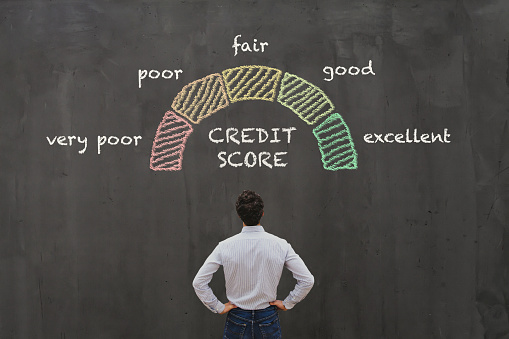 Credit Score Concept Stock Photo - Download Image Now