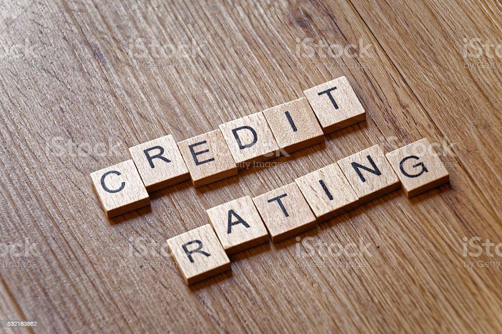 credit score stock photo