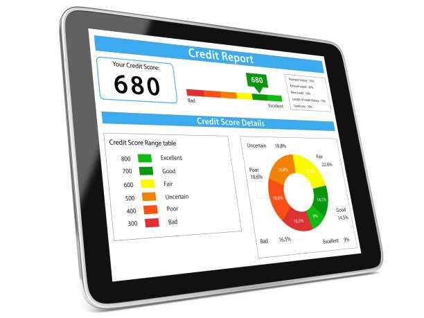 Score-Bericht Tablet-Computer – Foto