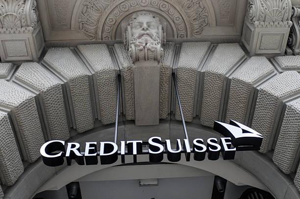 Credit Suisse stock photo