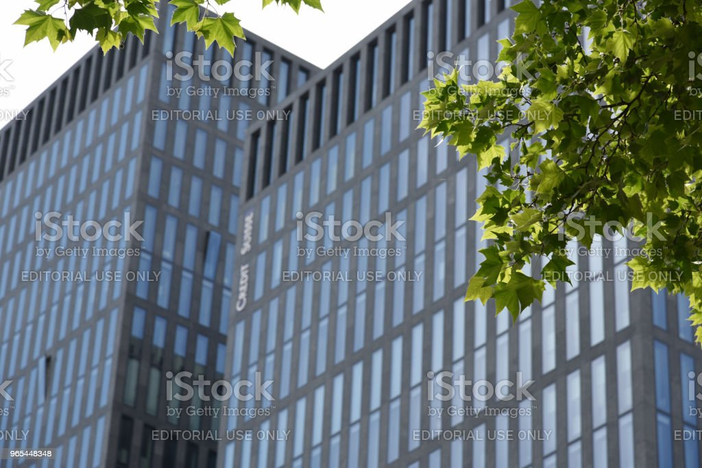 Credit Suissse royalty-free stock photo