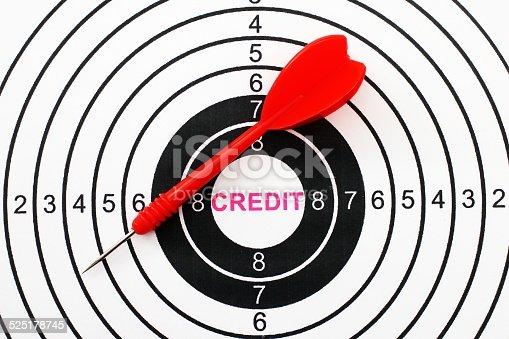 istock Credit target 525178745
