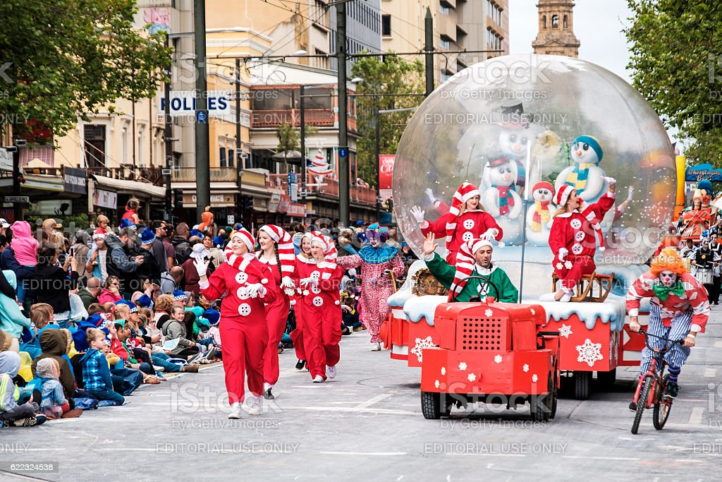 Credit Union Christmas Pageant 2016 stock photo
