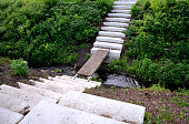 path, garden, grass, green, stone, park, nature, road, footpath, lawn, steps, way, landscape, tree, summer, walk, walkway, pathway, outdoor, plant, design, pavement, trees, rock, beautiful, footbride, creek, staircase, stairs, concrete, white, rectangular, tiles, pedal, notch, stream, slab, slabs, trail, tread, public, terrain