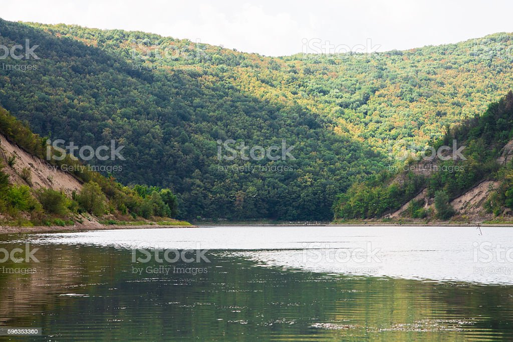 Creek in the mountains. royalty-free stock photo