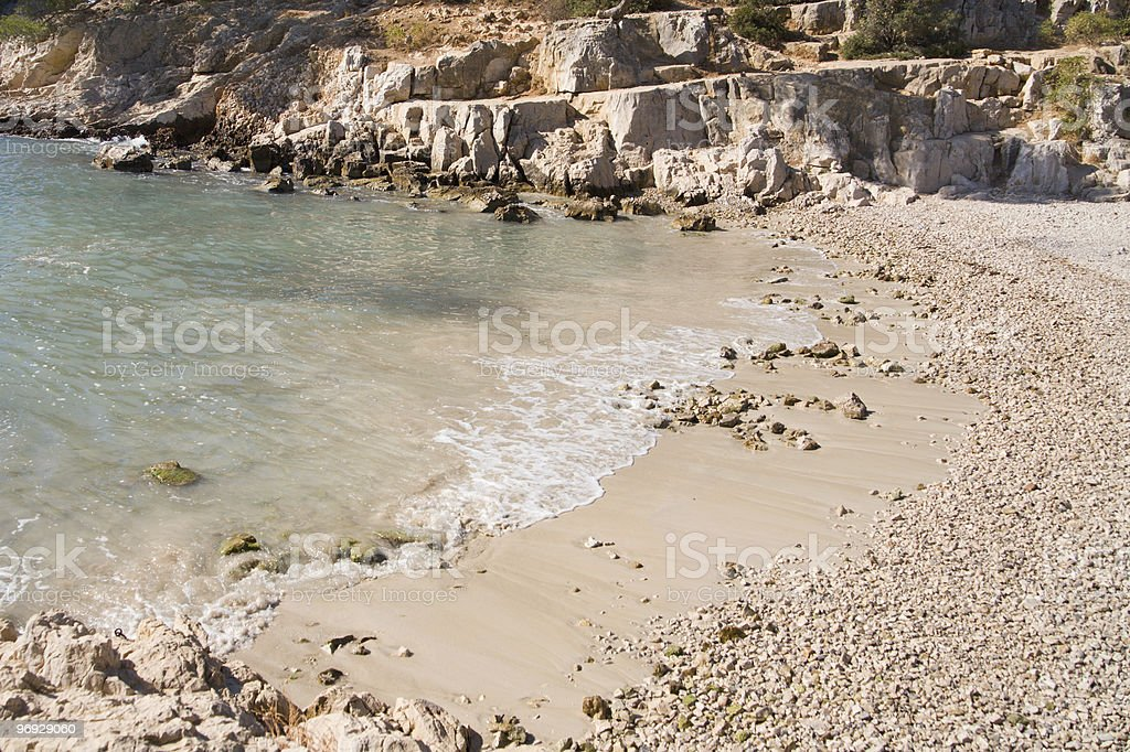 Calanques Beach royalty-free stock photo