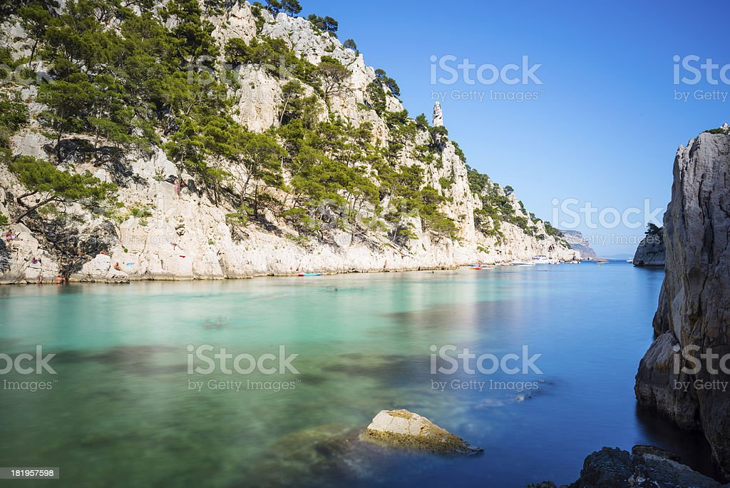 Calanques royalty-free stock photo