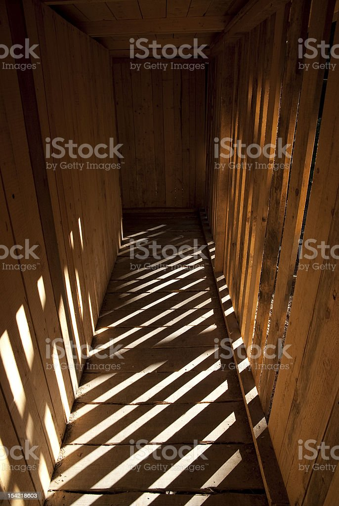 Creepy Basement stock photo