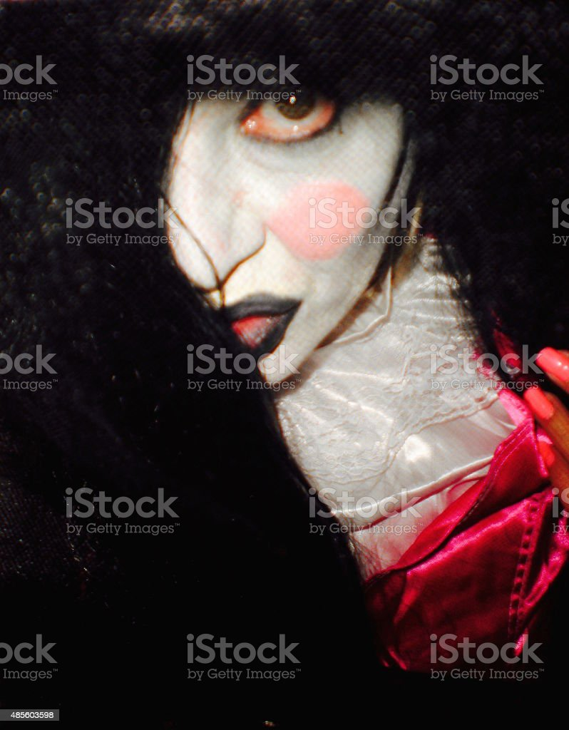 Creepy Costume stock photo