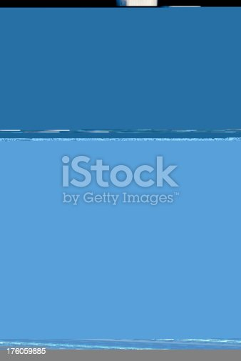 istock Creepy Doll in surreal organic structure 176059885