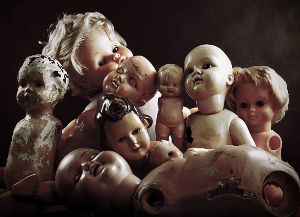 creepy dolls - 公仔 個照片及圖片檔