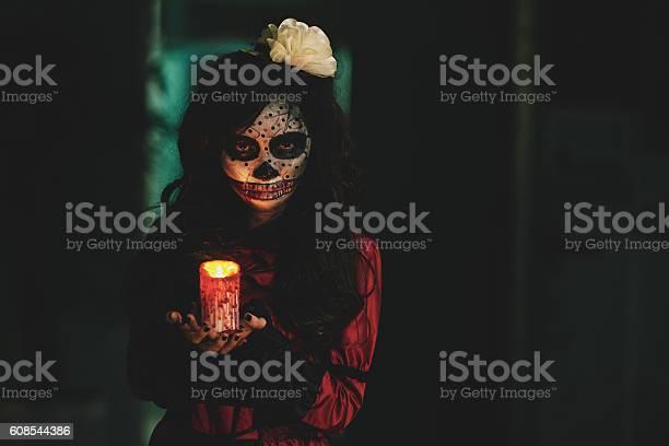 Creepy Girl Stock Photo - Download Image Now