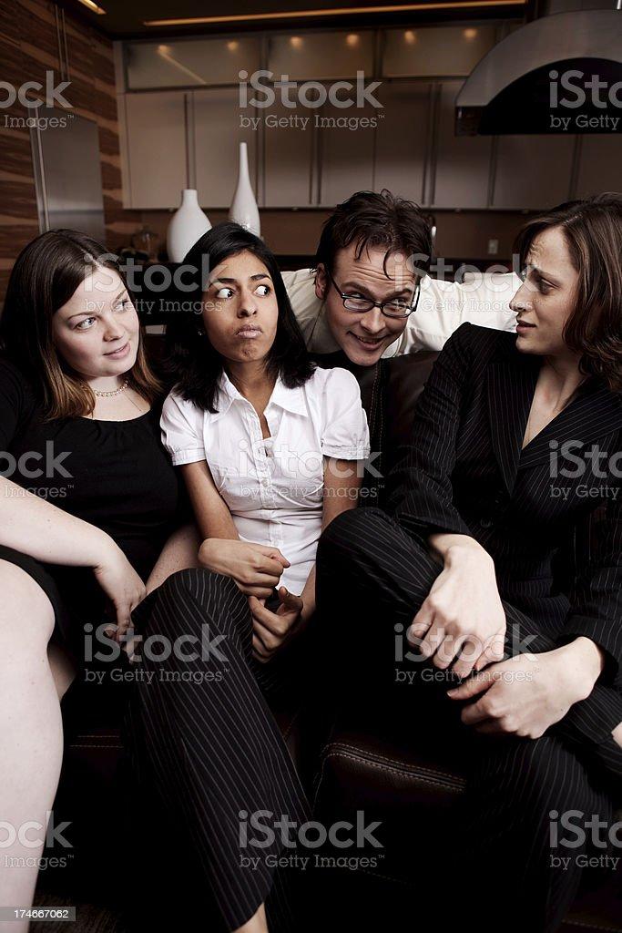 Creepy Guy stock photo