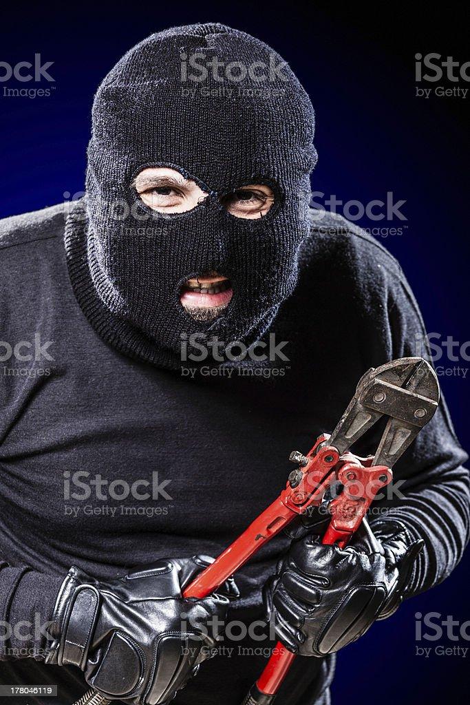 Creepy Housebreaker stock photo