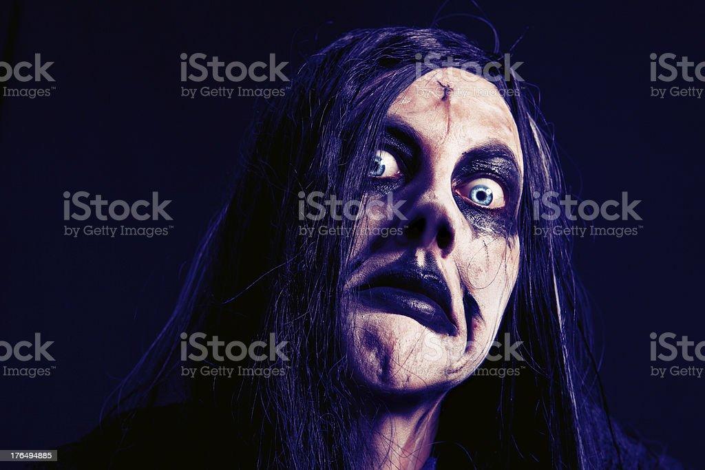Creepy Zombie Creature stock photo