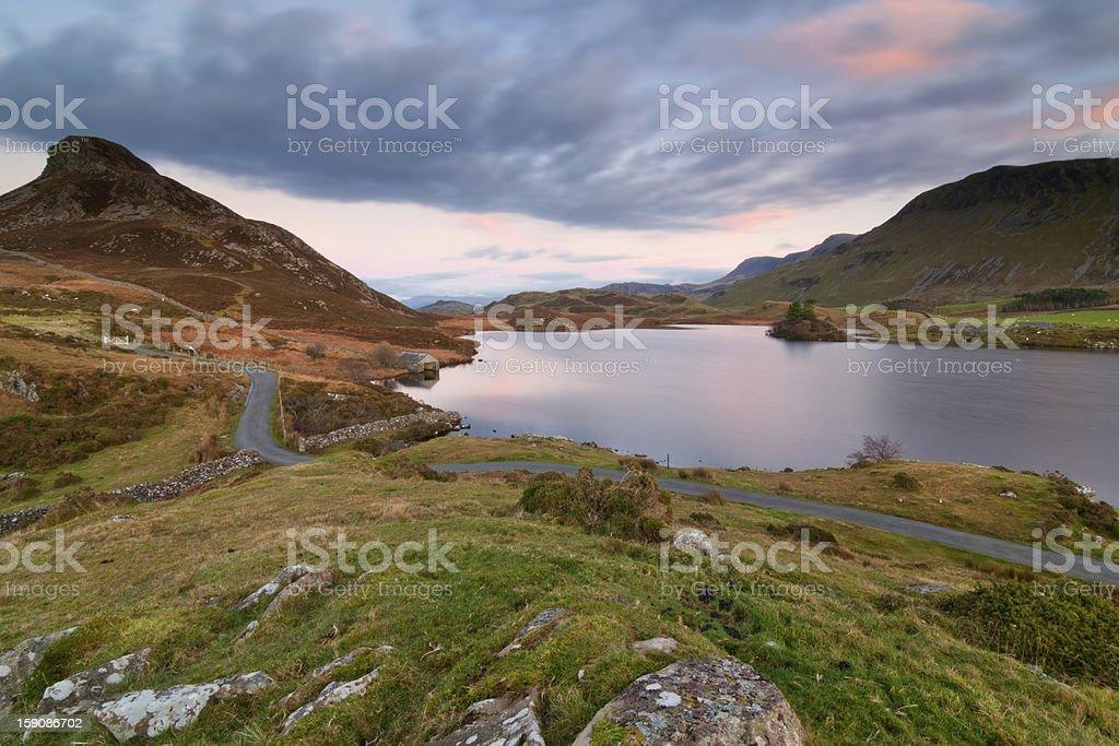 Cregennan Lake royalty-free stock photo