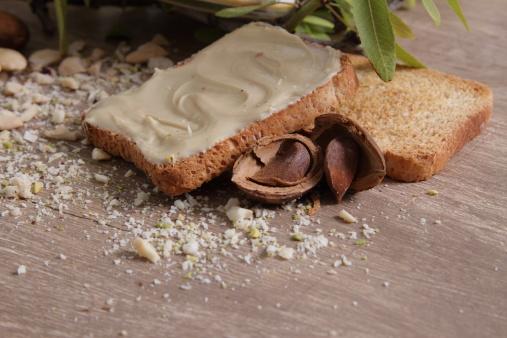 Crema Di Mandorle - Fotografie stock e altre immagini di Alimenti secchi