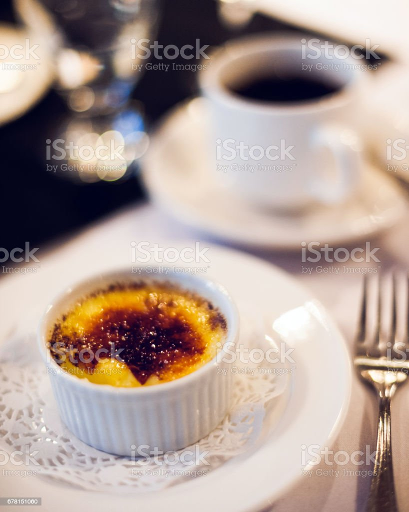 Creme Brulee and Coffee – Foto