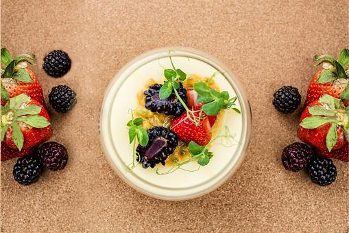 French dessert - cream brulee
