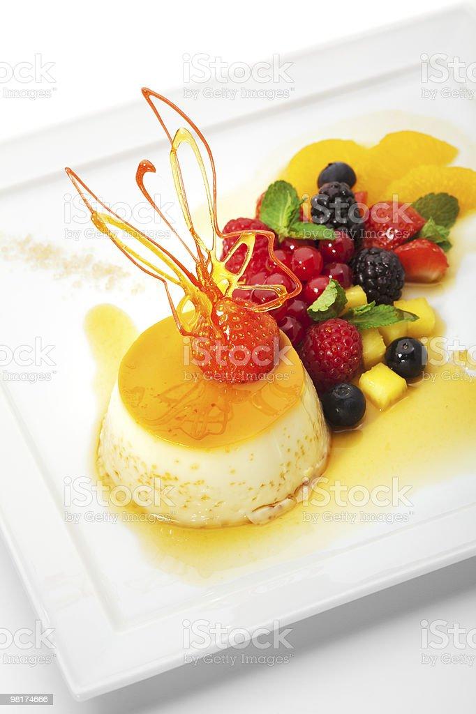 Crème Caramel foto stock royalty-free