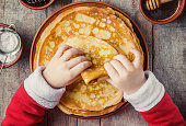 istock Crepes are homemade. Pancakes. Selective focus. Food 1067859488