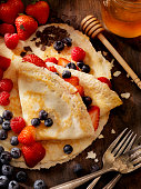 istock Crepes with Fresh Berries 637800660