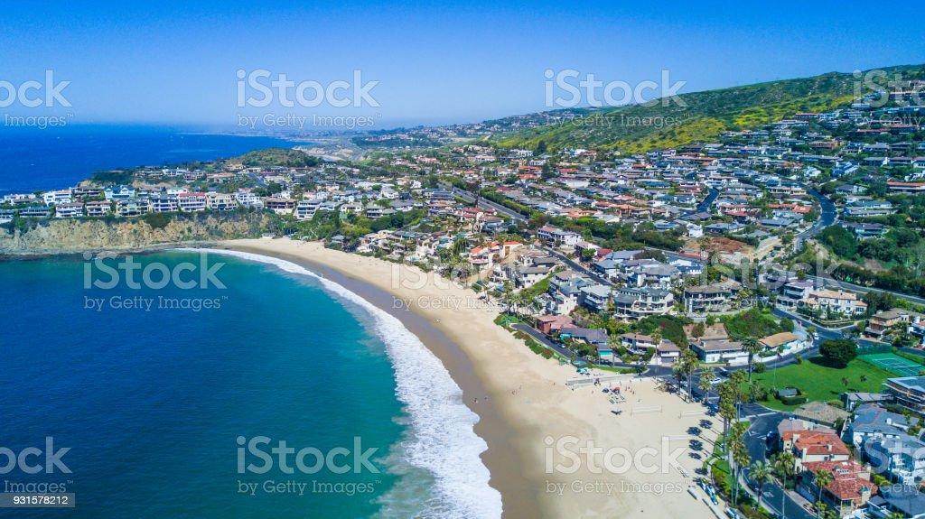 Crescent Bay, Laguna Beach stock photo