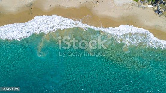 A view of Crescent Bay, Laguna Beach in Southern California