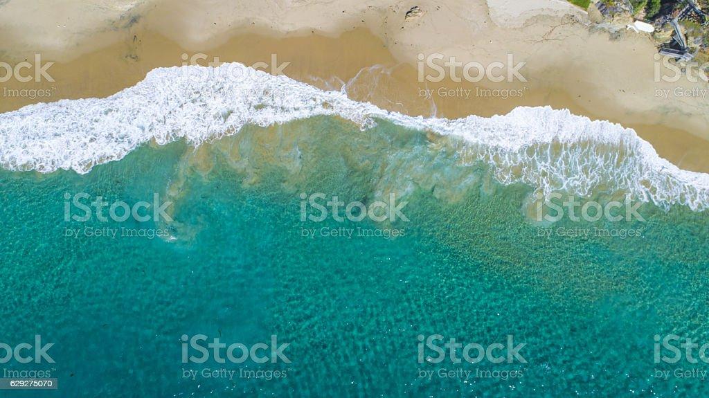 Bahía de la media luna - foto de stock