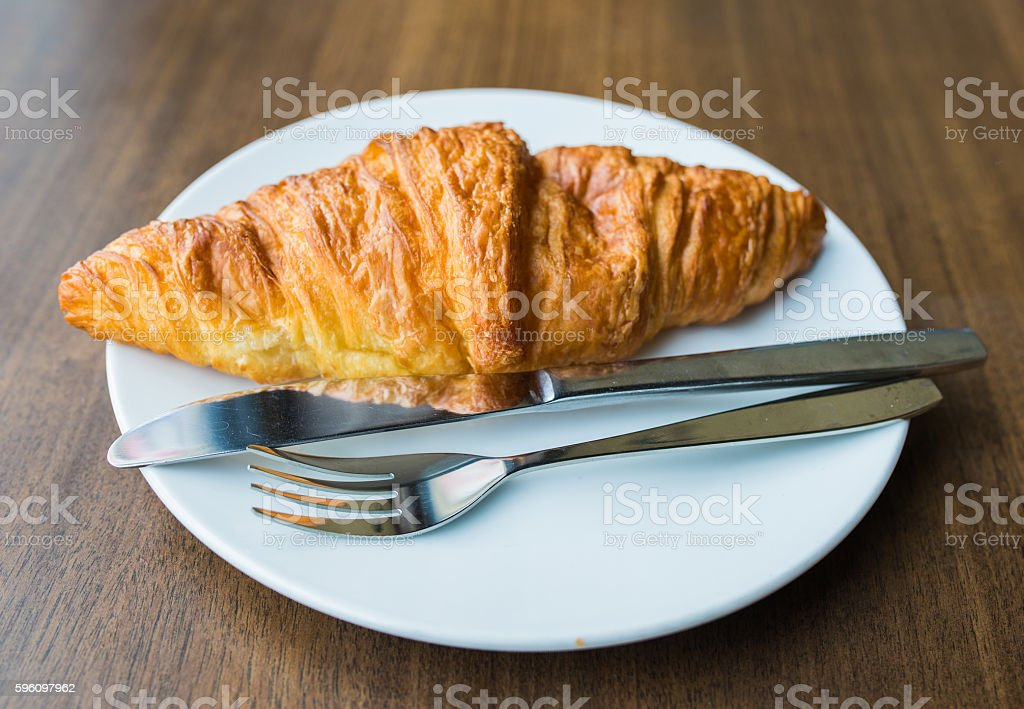 Croissant royalty-free stock photo