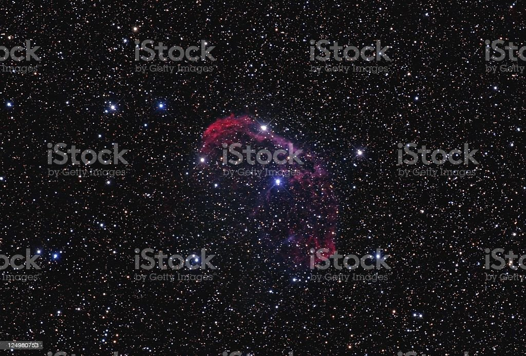 Crescent-Nebula royalty-free stock photo