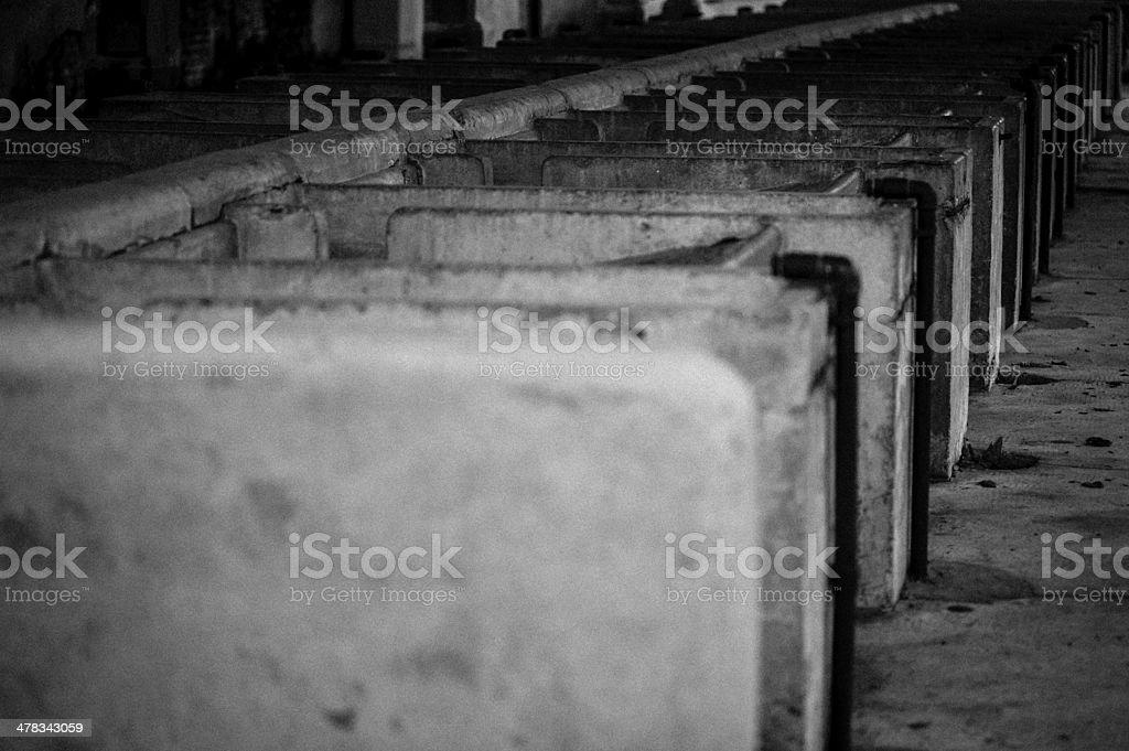 Crespi D'Adda - Village (Unesco) royalty-free stock photo