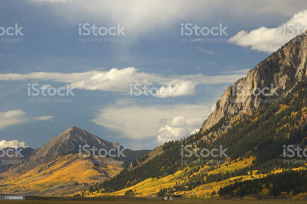 Crested Butte stock photo