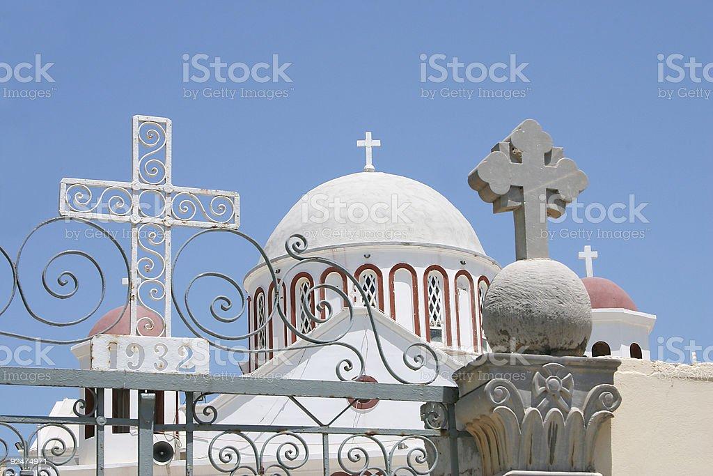 Crete / Church of Sitia royalty-free stock photo