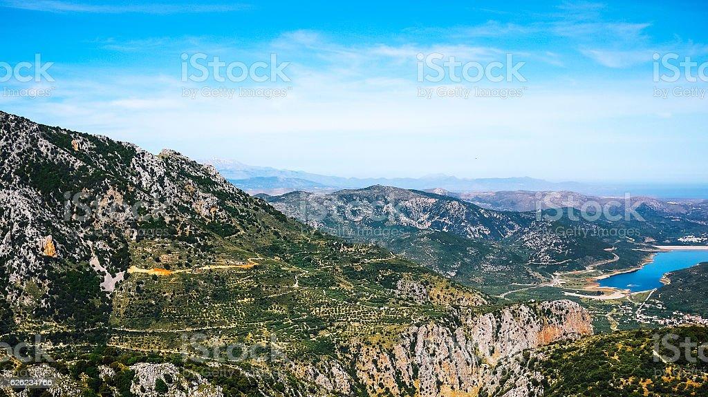 Crete landscape, Greece. – Foto