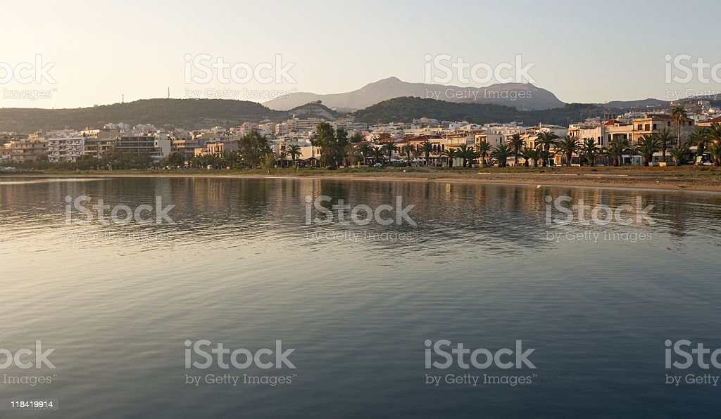 Crete Morning royalty-free stock photo