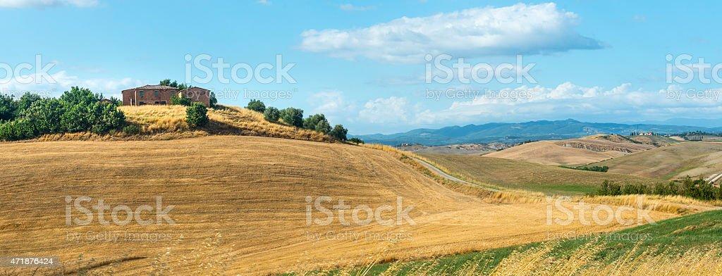 Crete Senesi (Tuscany, Italy) stock photo