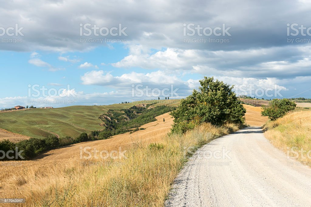 Crete Senesi (Tuscany, Italy) stock photo