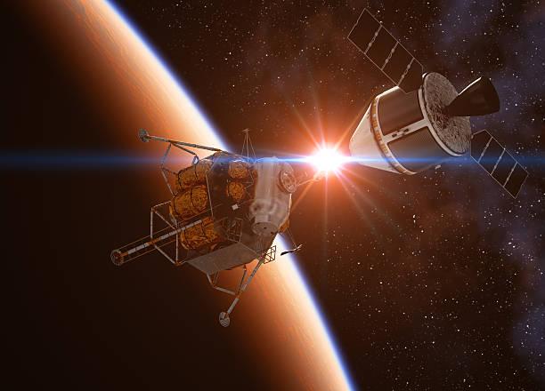 crew esplorazione veicolo - esplorazione spaziale foto e immagini stock