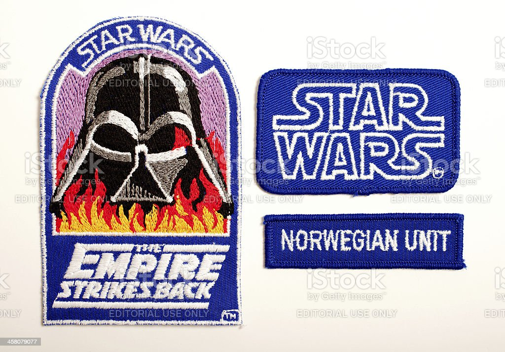 Crew Patches Star Wars The Empire Strikes Back Stock Photo