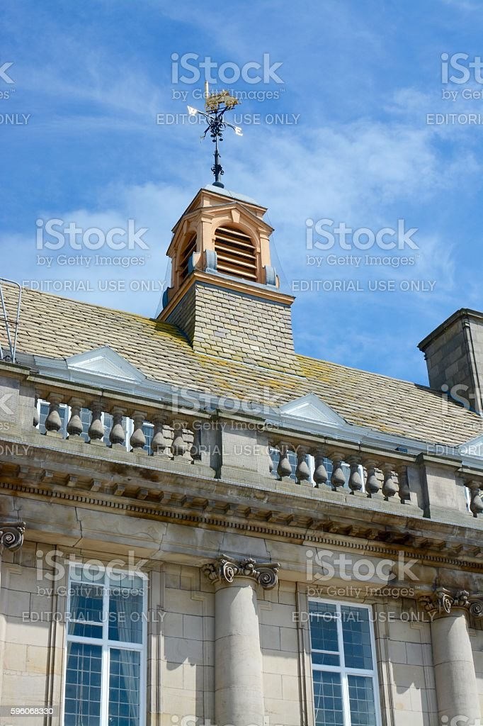 Crewe Town Hall royalty-free stock photo