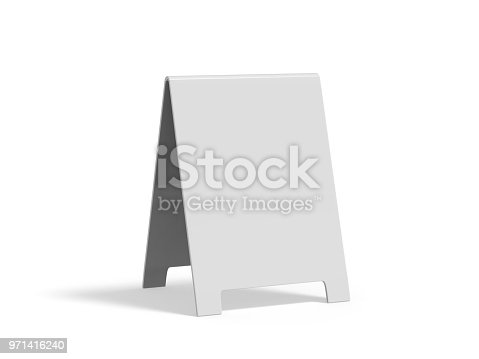 628470570 istock photo Crezon A-frame sandwich boards for design mock up and presentation 971416240