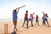 istock Cricket On The Beach 465521545
