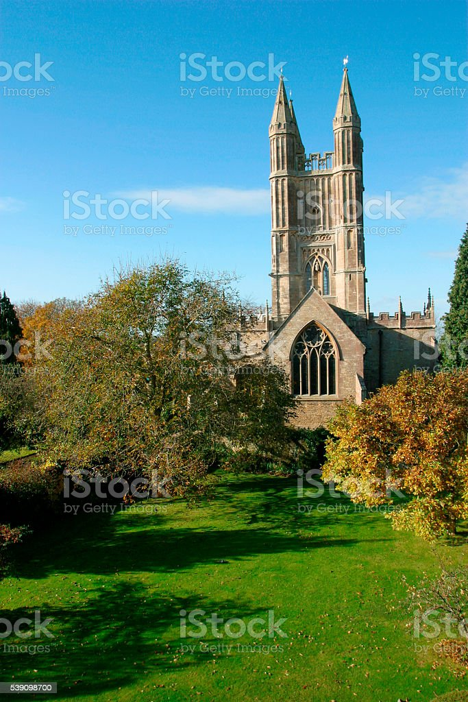 Cricklade church, the Cotswolds, Wiltshire, UK stock photo
