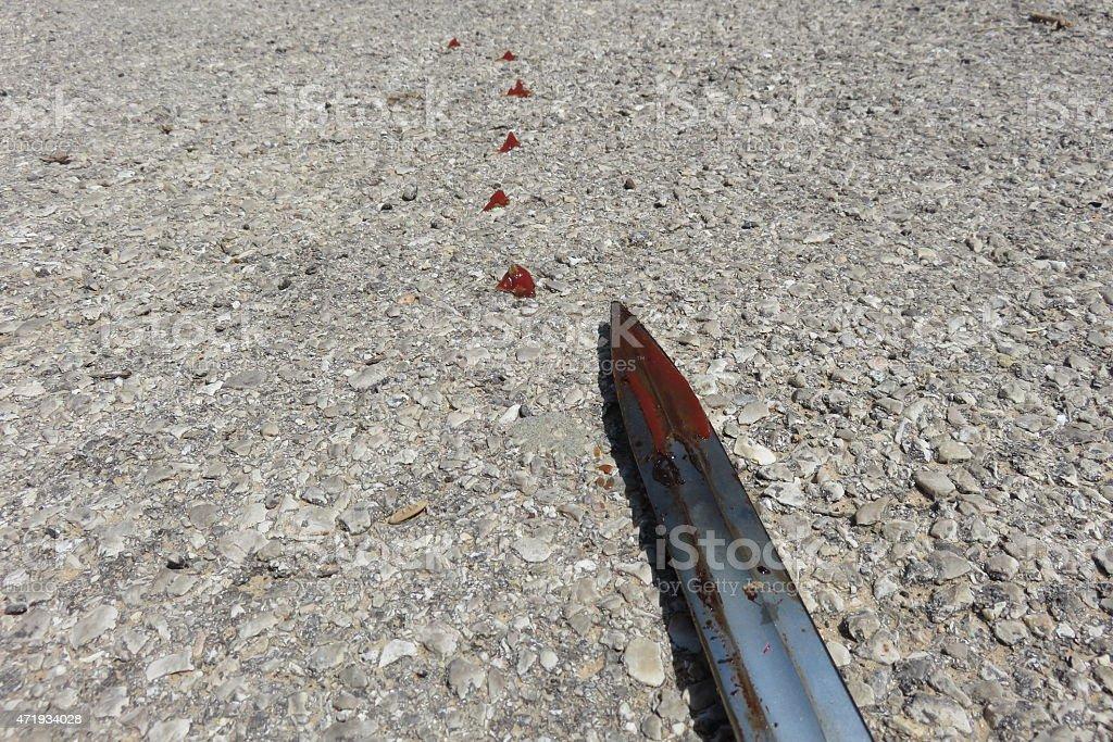 Crime concept image stock photo