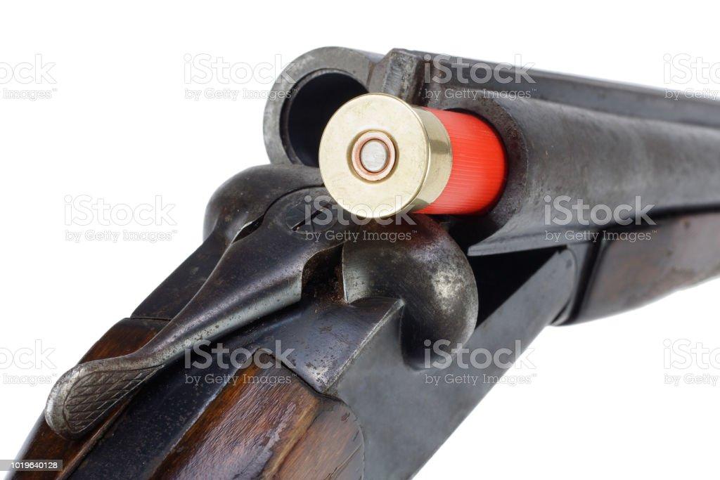 Crime Gun Sawn Off Shotgun Stock Photo More Pictures Of Aiming