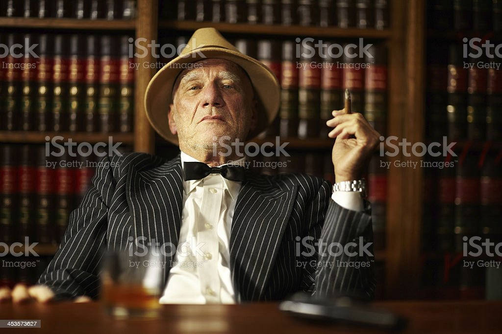 Crime is all about control royalty-free stock photo