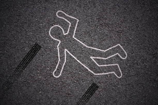 Tatort - Autounfall – Foto