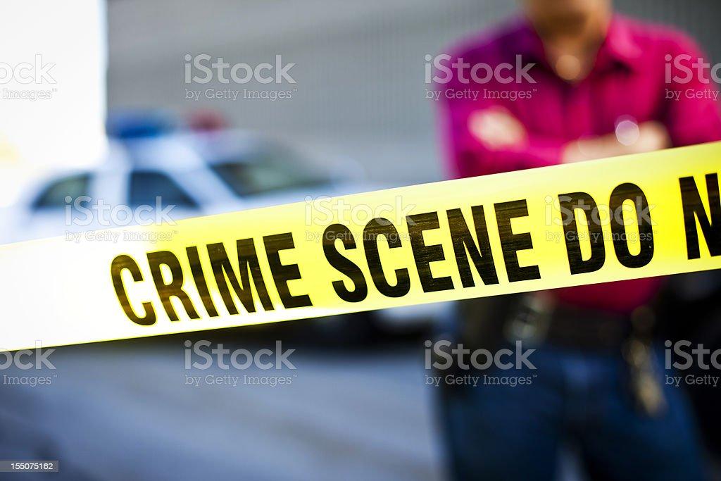 Crime Scene Investigator royalty-free stock photo