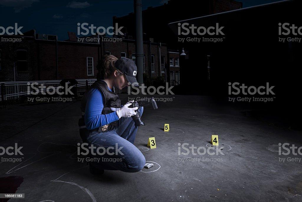 crime town stock photo